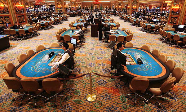 casino is located in a busy area